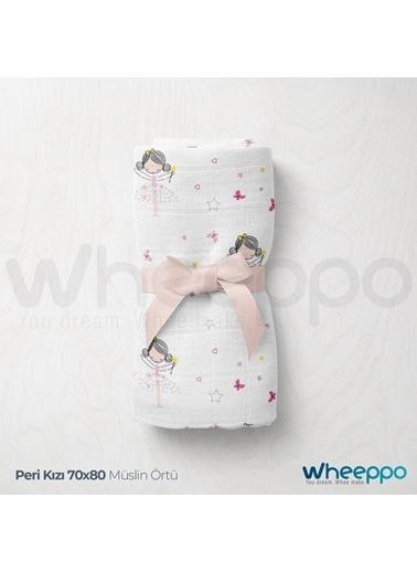Wheeppo Peri Kızı  Müslin Örtü  70*80 Cm Renkli